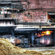 Ford Rouge Plant Steelmill Poster