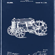 Ford Tractor Patent 1919 Poster