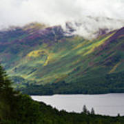 Forest And Lake Derwent Water Drama Poster