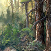 Forest Deep Poster