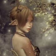 Forest Faun Poster