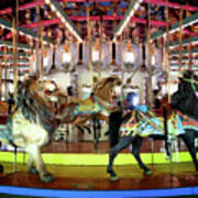Forest Park Carousel Poster