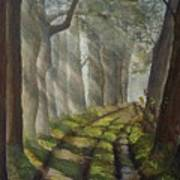 Forest Pathway Poster