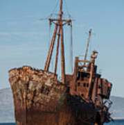 Forgotten Ship Wreck Poster