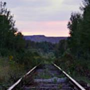 Forgotten Train Track Poster