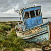 Forsaken Fishing Boat Poster