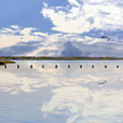 Fort Fisher Reflection Poster