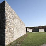 Fort Frederick In Maryland Poster