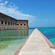 Fort Jefferson Dry Tortugas Poster