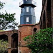 Fort Jefferson Light House Poster