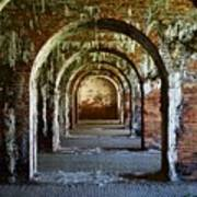 Fort Morgan Arches Poster