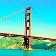 Fort Point Golden Gate Bridge Poster