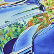 Forty Ford In Fall Poster