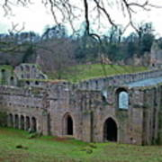 Fountains Abbey 4 Poster