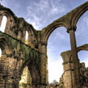 Fountains Abbey 5 Poster