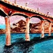 Four Bears Bridge Poster