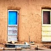 Four Doors At Taos Poster