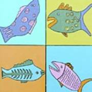 Four Fish Poster
