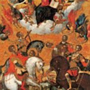Four Military Saints Poster