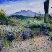 Four Peaks Phoenix Arizona Usa 2003  Poster