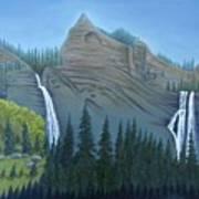Fourmile Falls And Fall Creek Falls Poster