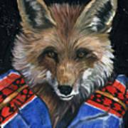 Fox Medicine Poster