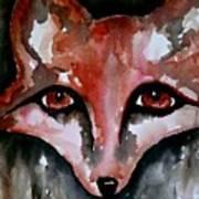 Fox Shadow Magic Poster