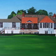 Foxrock Golf Club Poster