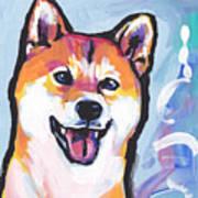 Foxy Shiba Poster