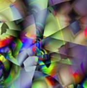 Fractal Cubism Poster