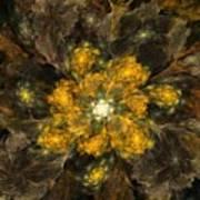 Fractal Floral 02-12-10 Poster