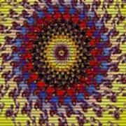 Fractal Outburst Catus 1 No. 10 -sunsettia For Lea V A Poster