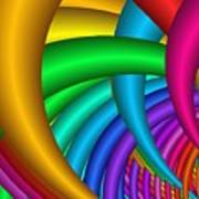 Fractalized Colors -9- Poster by Issabild -
