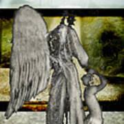 Framed Angel Poster