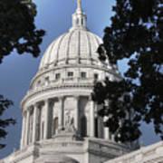 Framed Capitol Poster