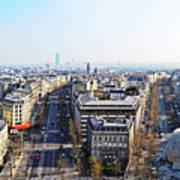 France Montmartre Paris Poster