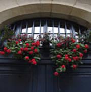France, Paris, Flower Bouquet Hanging Poster