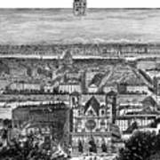 France, View Of Lyon, C1894 - To License For Professional Use Visit Granger.com Poster