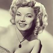 Frances Langford, Vintage Actress Poster