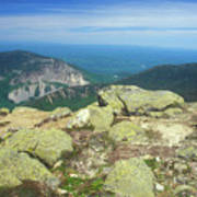 Franconia Notch From Mount Lafayette Poster
