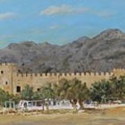 Frangokastello Castle - Southern Crete Poster