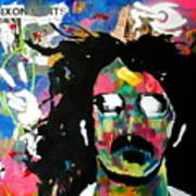 Frank Zappa Pop Art Poster