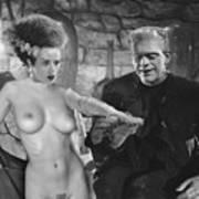 Frankenstein Bride Poster