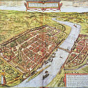 Frankfurt, Germany, 1572 Poster