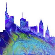 Frankfurt Skyline 3 Poster