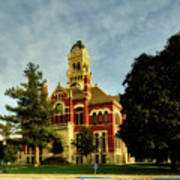 Franklin County Courthouse - Hampton Iowa Poster