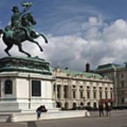 Franz Joseph Equestrian Statue Poster