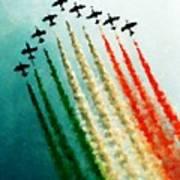Frecce Tricolori Poster