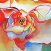 Fred Martin Begonia Poster