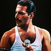 Freddie Mercury Art Print By Paul Meijering